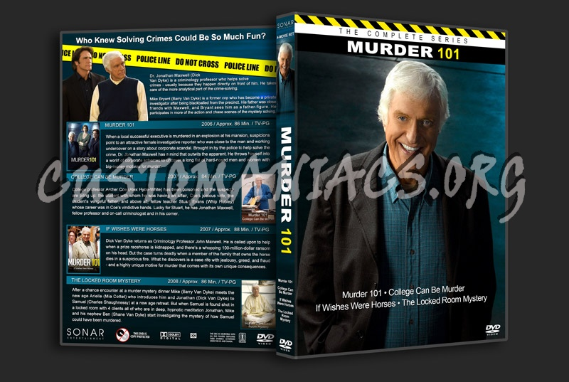Murder 101 Collection dvd cover