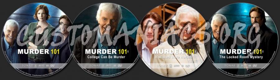 Murder 101 Collection dvd label