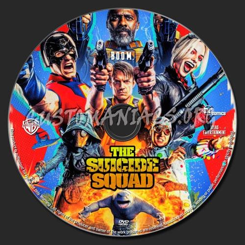 The Suicide Squad dvd label