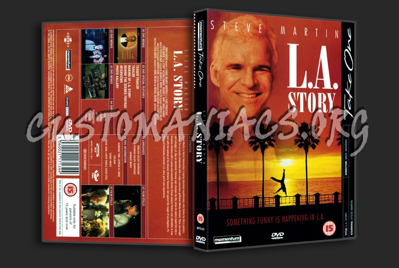 L.A. Story dvd cover
