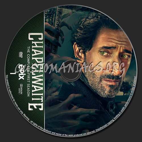 Chapelwaite Season 1 dvd label