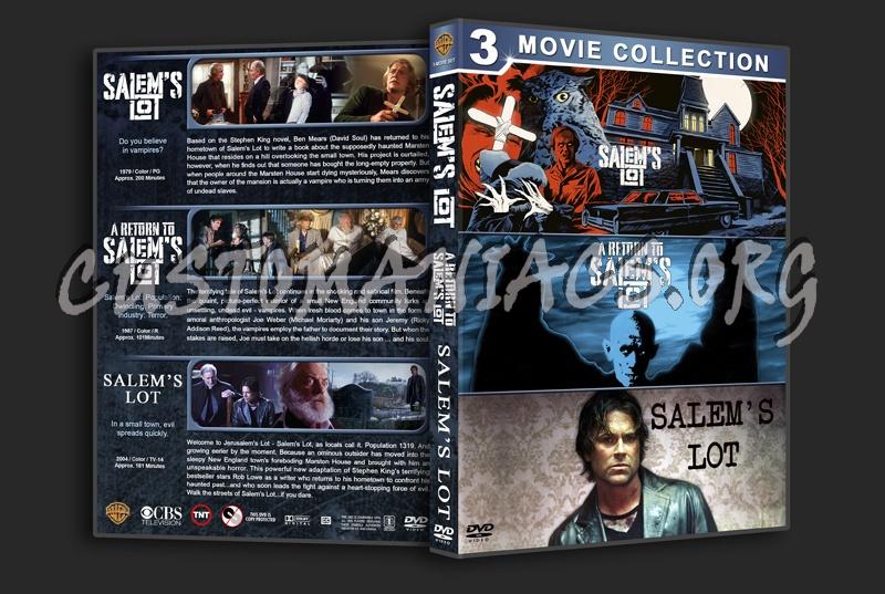 Salem's Lot Triple Feature dvd cover