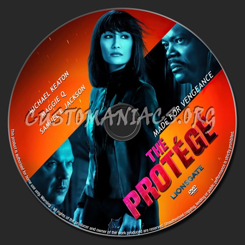 The Protege dvd label