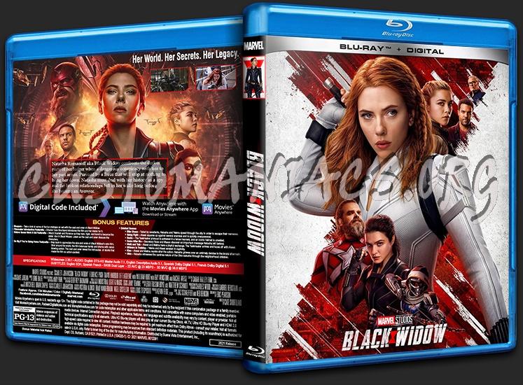 Black Widow blu-ray cover