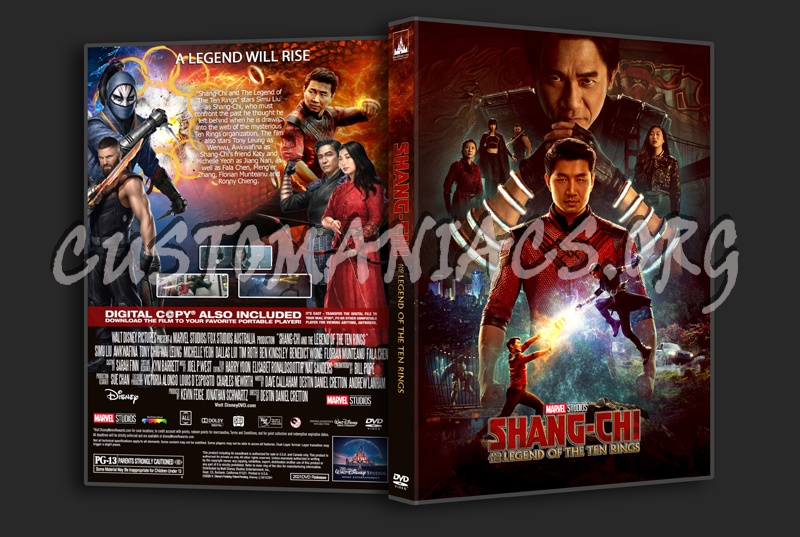 Shang-Chi And The Legend Of The Ten Rings dvd cover