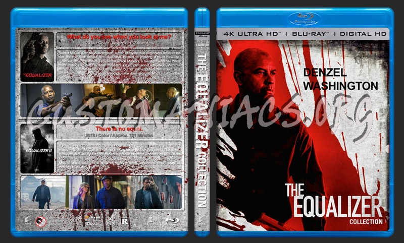 The Equalizer Collection (4K) blu-ray cover