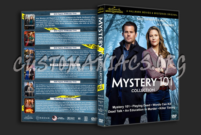 Mystery 101 Collection dvd cover