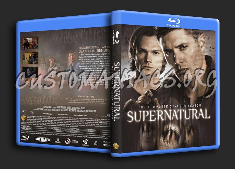 Supernatural Season 7 dvd cover