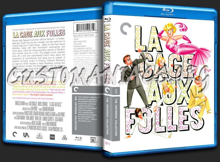 671 - La Cage aux Folles blu-ray cover