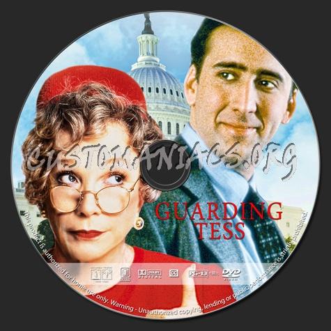 Guarding Tess dvd label