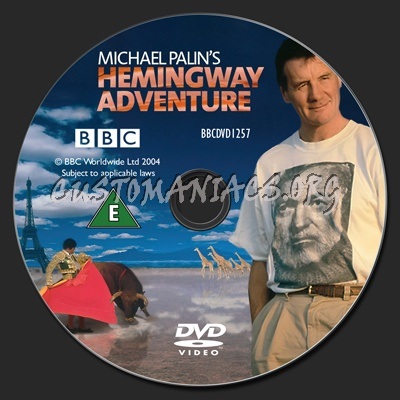Michael Palin's Hemingway Adventure dvd label