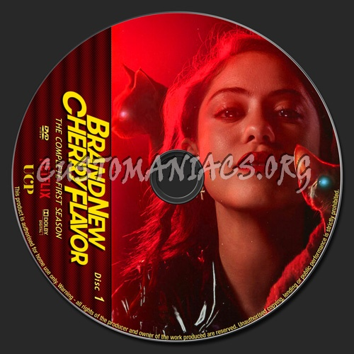 Brand New Cherry Flavor Season 1 dvd label