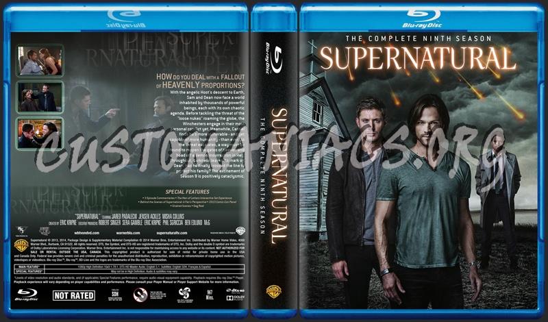 Supernatural Season 9 dvd cover