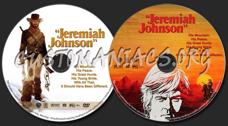 Jeremiah Johnson dvd label
