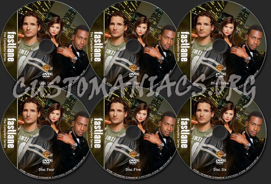 Fastlane Complete Series dvd label