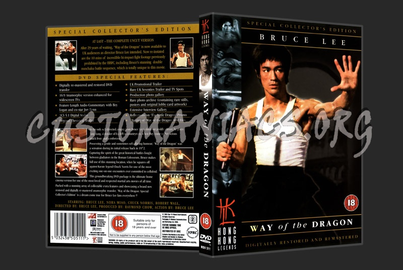 Way of the Dragon dvd cover