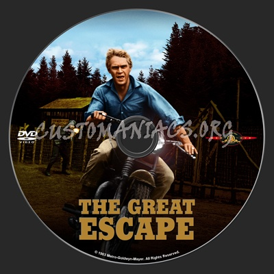The Great Escape dvd label
