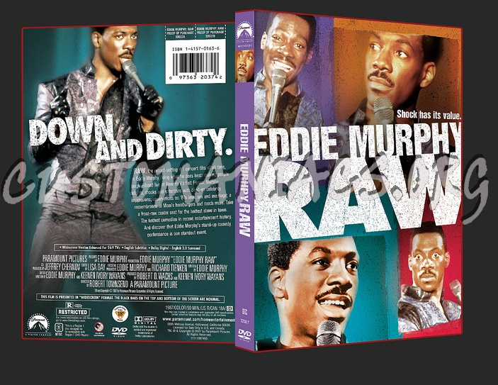 Eddie Murphy - Raw dvd cover
