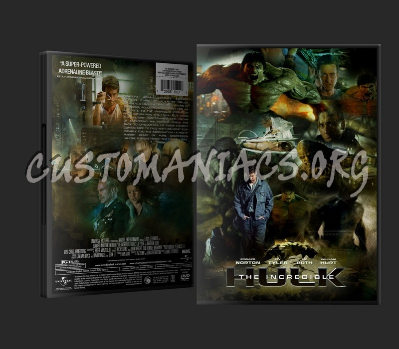The Incredible Hulk Dvd Cover