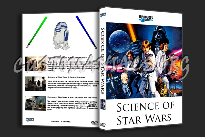 Science Of Star Wars dvd cover