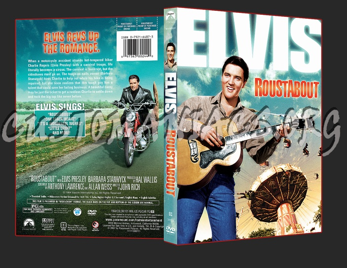 Elvis - Roustabout dvd cover