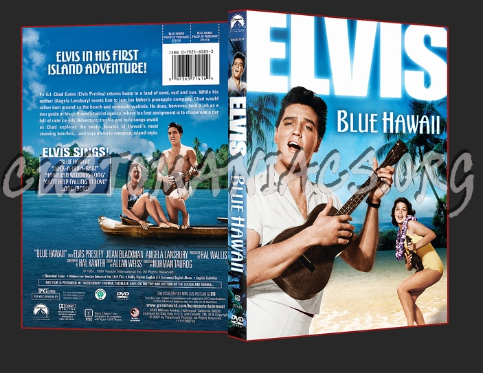 Elvis Blue Hawaii dvd cover - DVD Covers & Labels by Customaniacs, id: 45865 free download ...