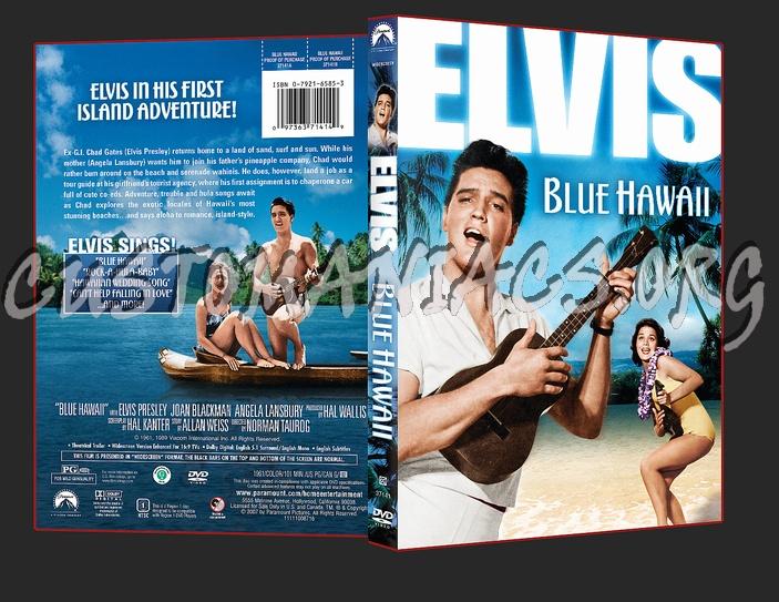 Elvis Blue Hawaii dvd cover
