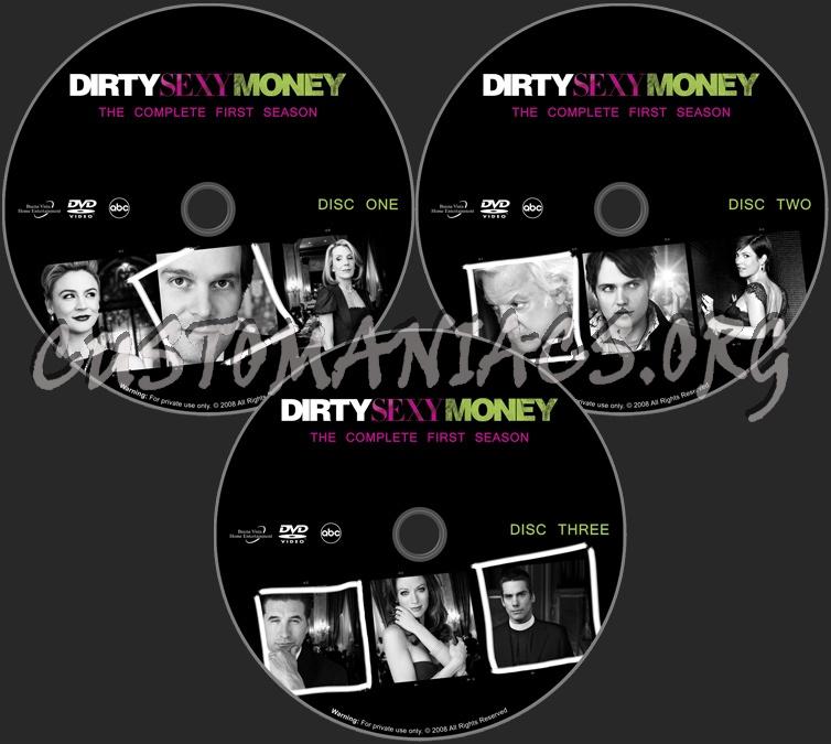 Dirty Sexy Money - Season 1 dvd label