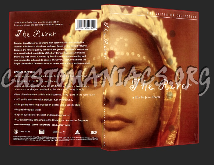 276 - The River dvd cover