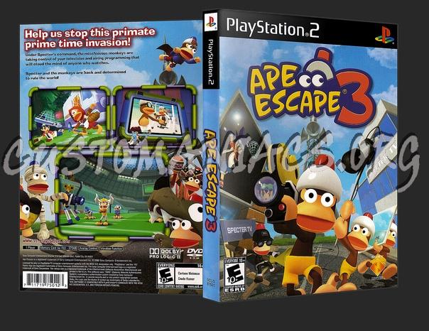 Ape Escape 3 dvd cover