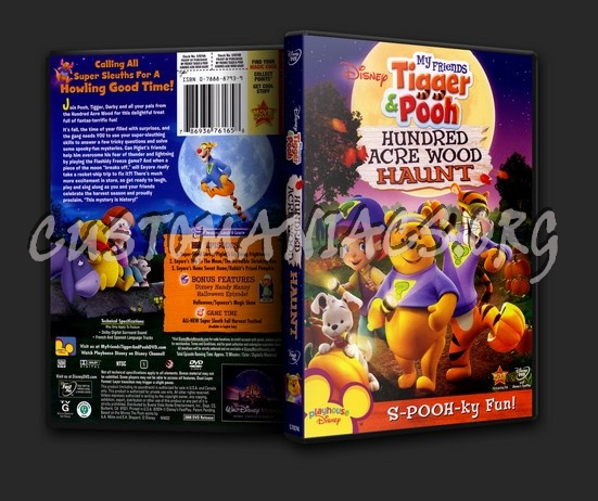 Tigger & Pooh Hundred Acre Haunt dvd cover