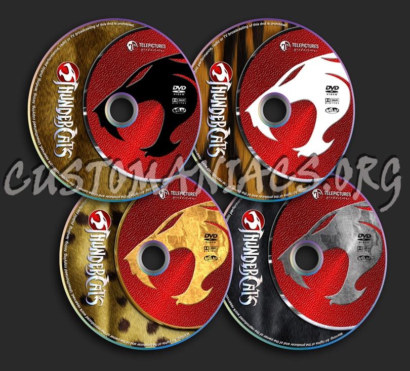 Thundercats dvd label