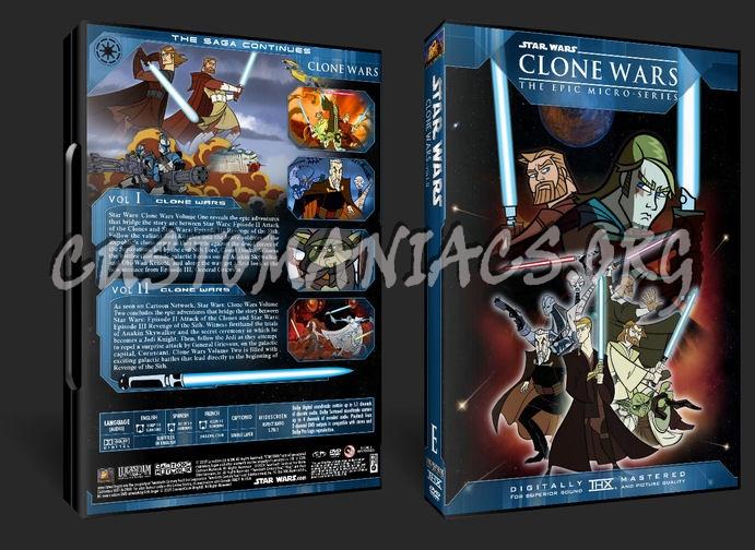 Star Wars - Clone Wars dvd cover