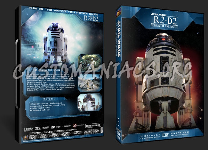 R2-D2 - Beneath the Dome dvd cover