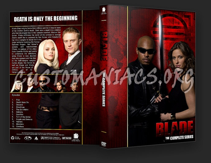 Blade: The Complete Series - TV Collection dvd cover