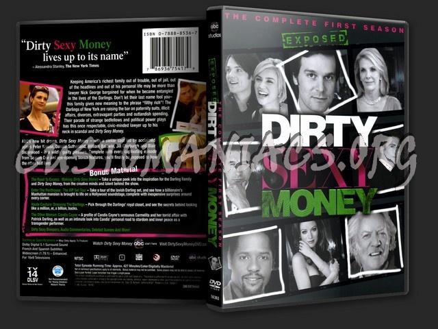 Dirty Sexy Money Season 1 dvd cover