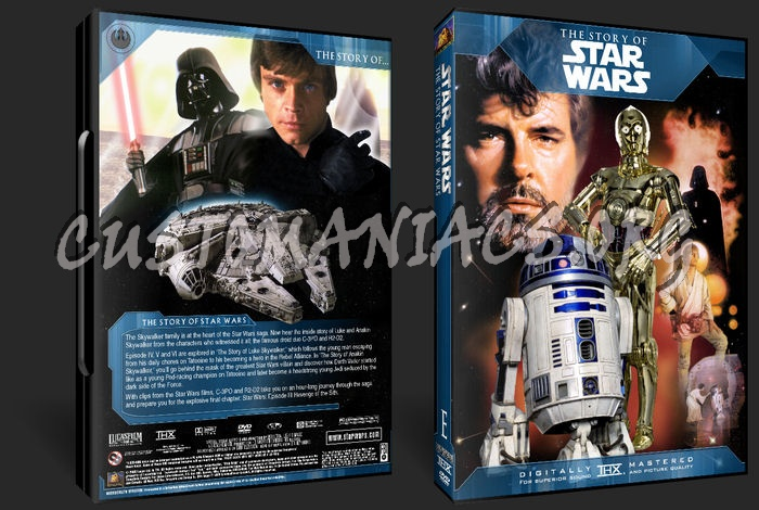 The Story Of Star Wars dvd cover