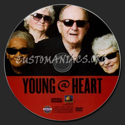 Young@Heart (Young at Heart) dvd label