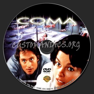 Coma dvd label