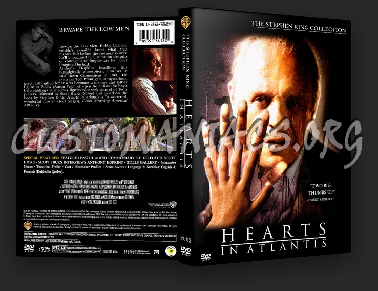 Hearts In Atlantis (2001) dvd cover