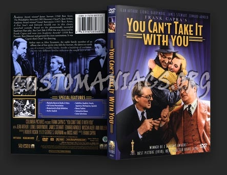 You Can't Take It With You dvd cover