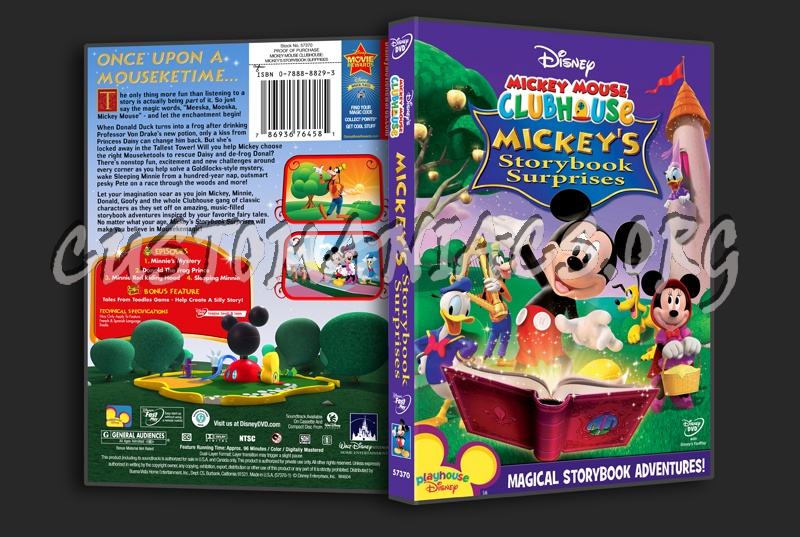 Mickey Mouse Clubhouse: Mickey's Storybook Surprises dvd cover