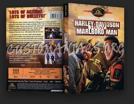 Harley Davidson and The Marlboro Man dvd cover