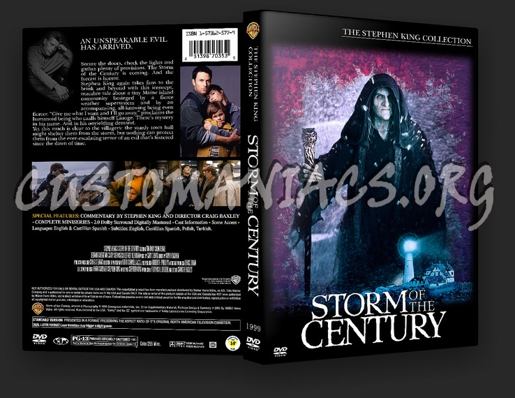 Storm of the Century dvd cover