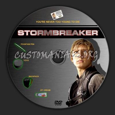 Stormbreaker dvd label
