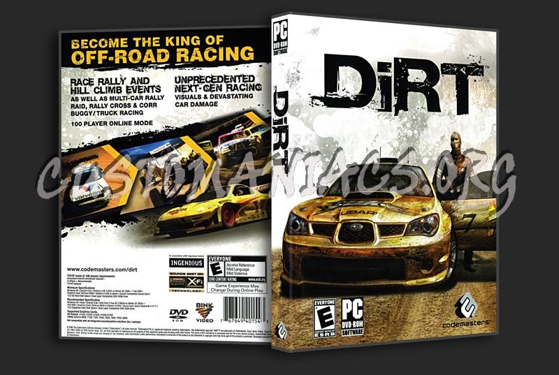 Colin Mcrae DIRT dvd cover