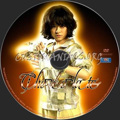 Chocolate dvd label