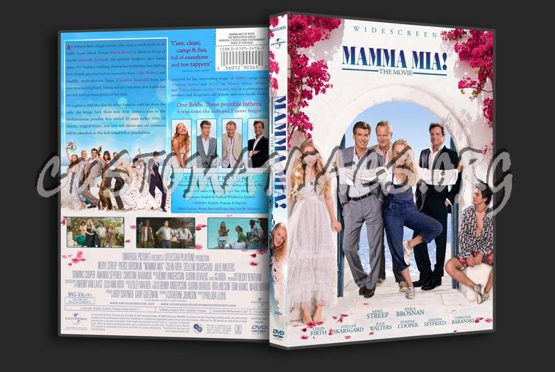 Mamma Mia! The Movie dvd cover