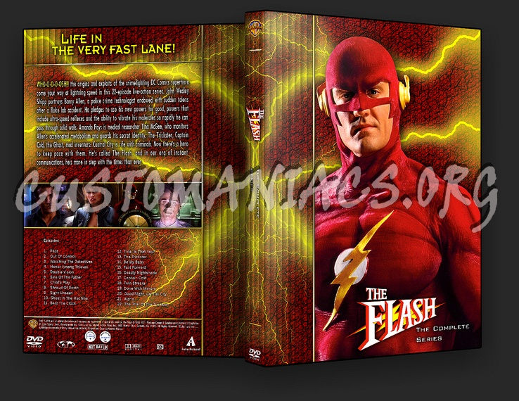 The Flash - TV Collection dvd cover