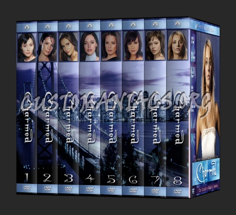 Charmed dvd cover